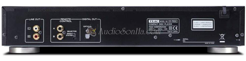 Đầu CD TEAC P650