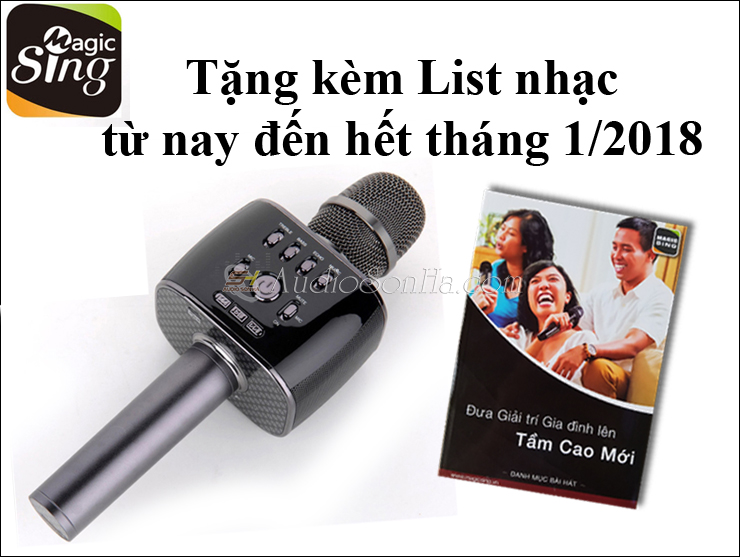 Micro Bluetooth Magic Sing MP30 new