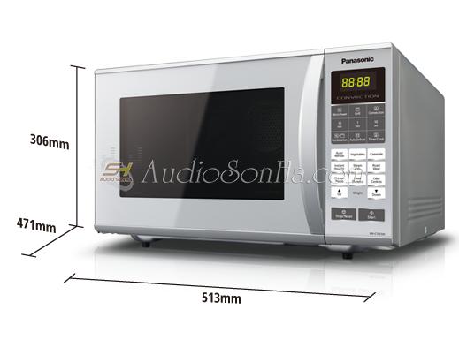 Lò vi sóng Panasonic NN-CT655M