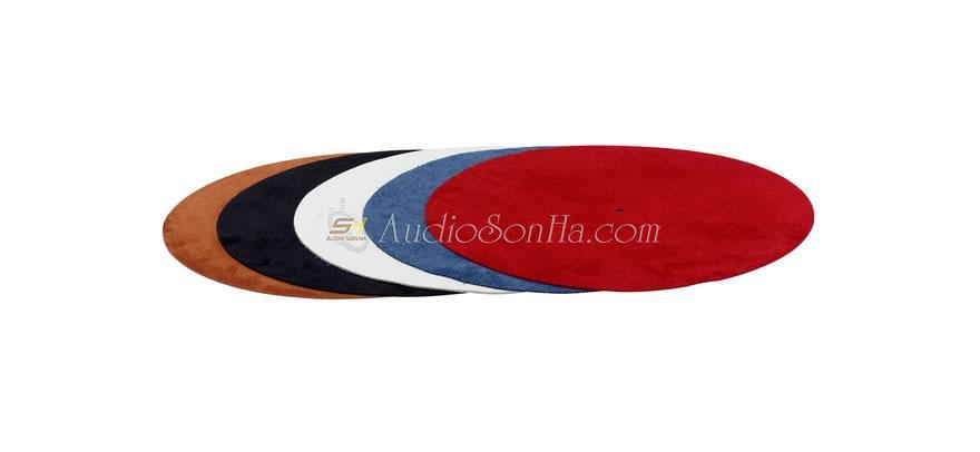 Acoustic Solid Lederauflage Plattenteller