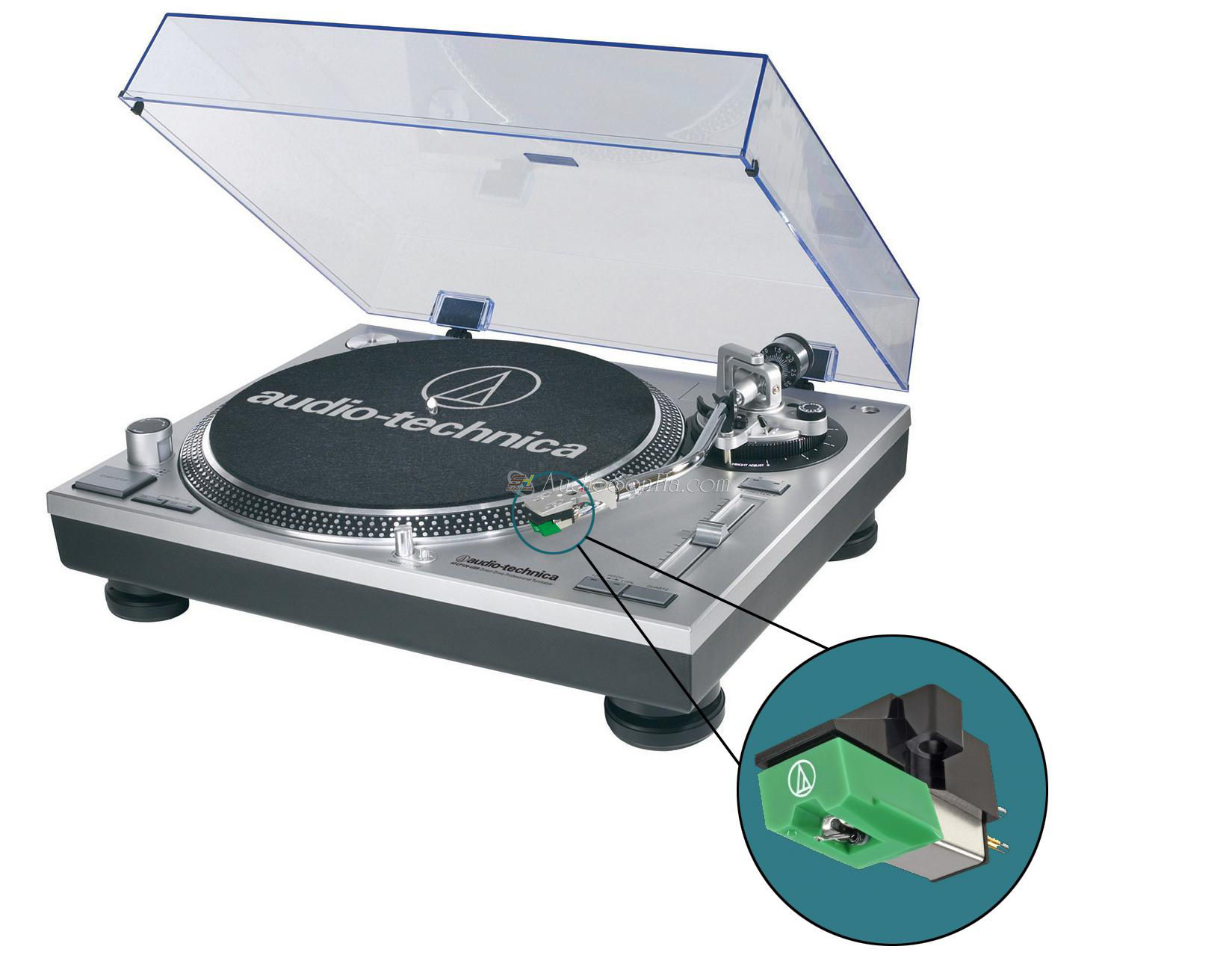 Audio-Technica AT-LP120-USB Turntable  + AT95EB