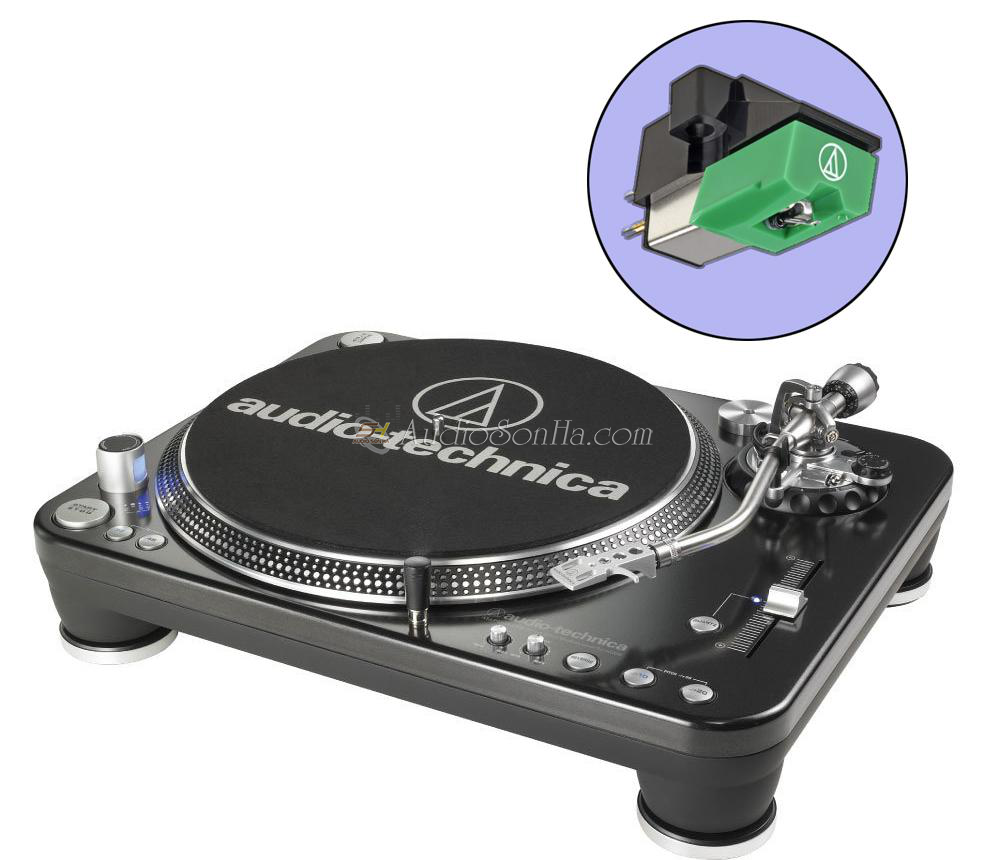 Audio Technica AT-LP1240-USB Turntable + AT95EB