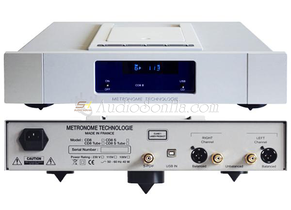 Đầu CD Metronome CD8S integrated
