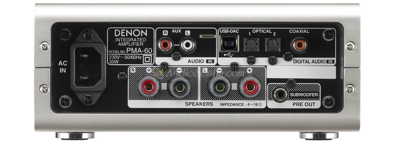 Denon PMA-60 Integrated Amplifier