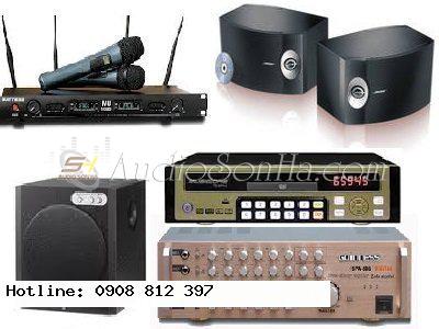 Hệ thống Karaoke 1 (Loa Bose 301)