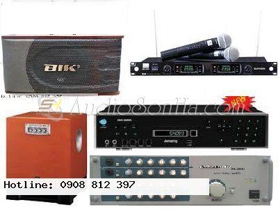 Hệ thống Karaoke 2 (Loa BIK BS-880)