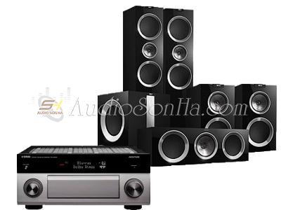 Hệ Thống Kef R900 - Yamaha 3060 5.1Ch
