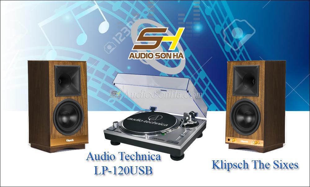 Hệ thống nghe nhạc đĩa than Audio Technica - Klipsch