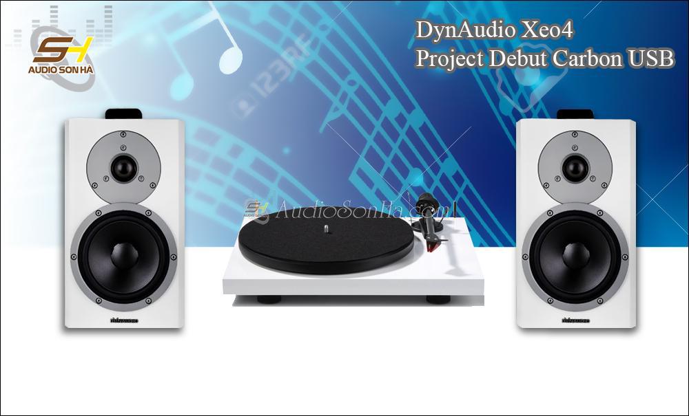 Hệ thống nghe nhạc đĩa than ProJect - Dynaudio