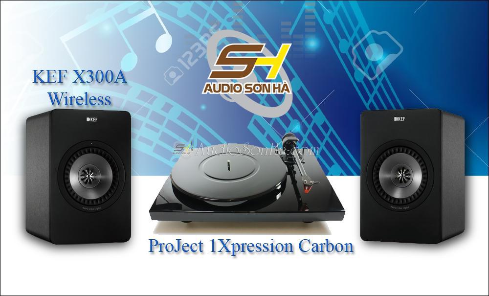 Hệ thống nghe nhạc đĩa than ProJect - KEF