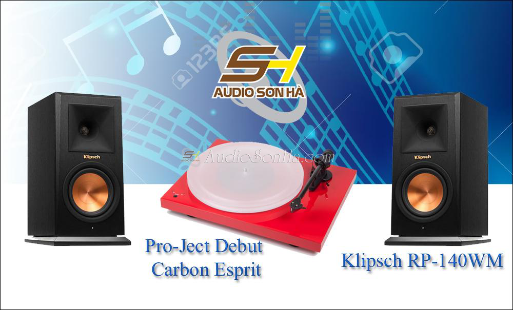 Hệ thống nghe nhạc đĩa than ProJect - Klipsch