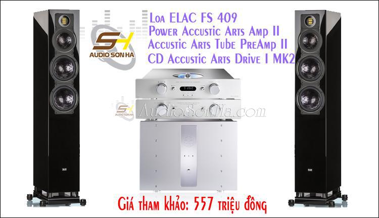 Hệ thống nghe nhạc ELAC & Accustic