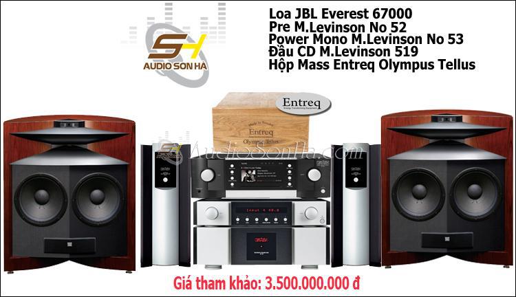 Hệ thống nghe nhạc JBL & Mark Levinson 2