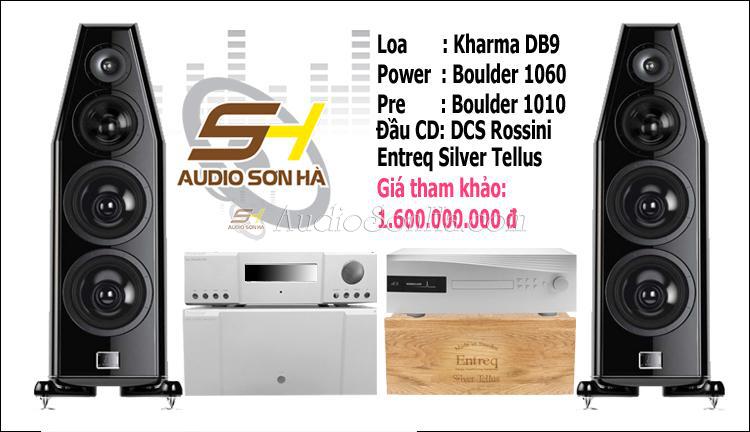Hệ thống nghe nhạc Kharma + Boulder