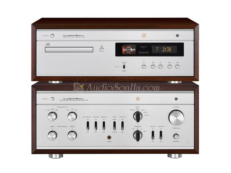 Hệ thống nghe nhạc Luxman LX-380 Amplifier & D-380 CD Player