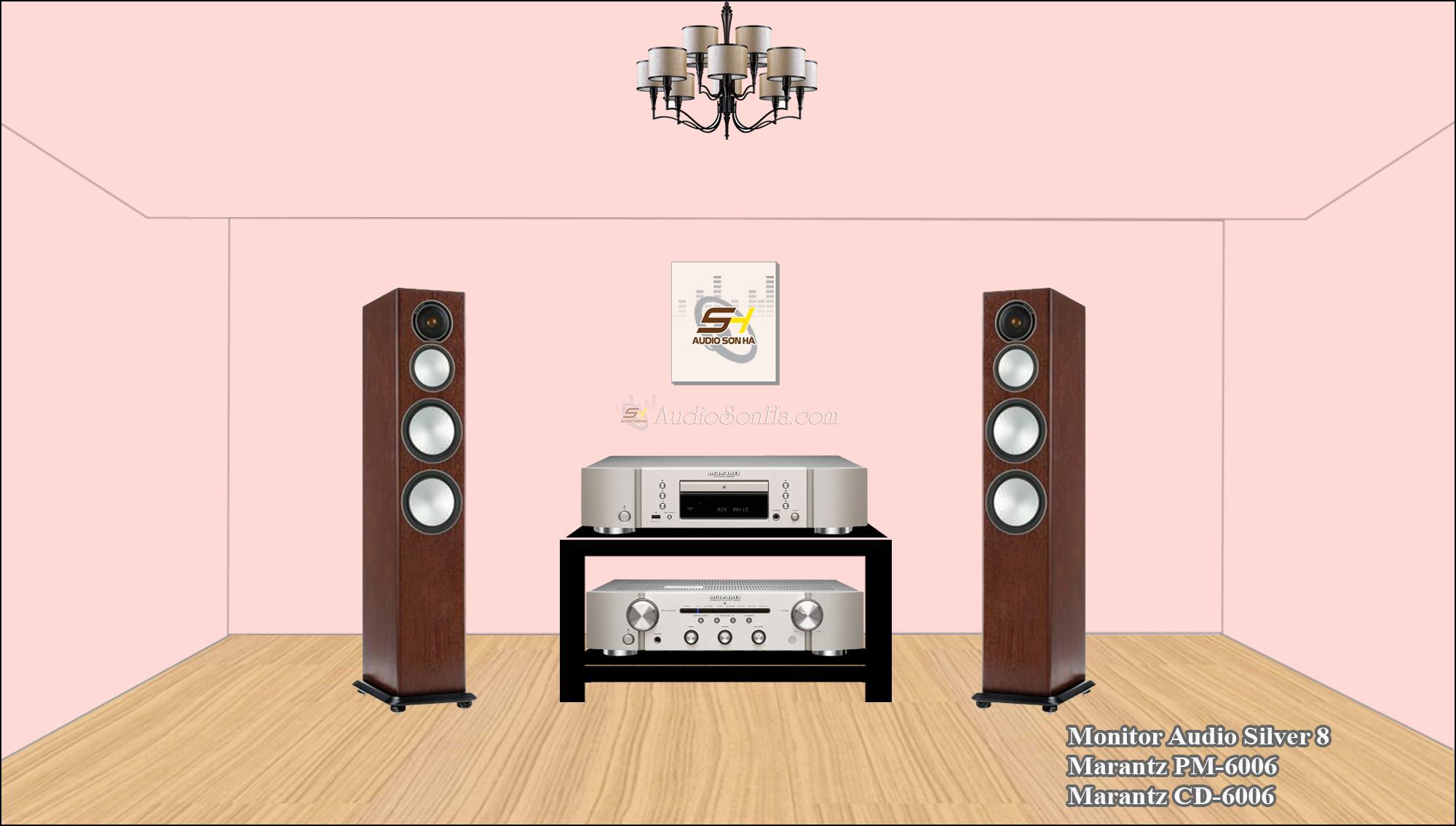Hệ thống nghe nhạc Marantz & Monitor Audio
