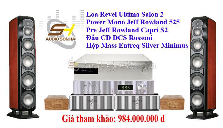 Hệ thống nghe nhạc Revel & Jeff Rowland