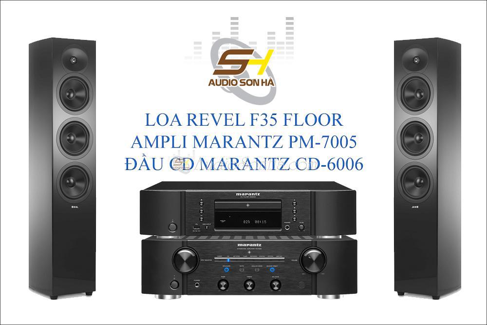 Hệ thống nghe nhạc Revel F35
