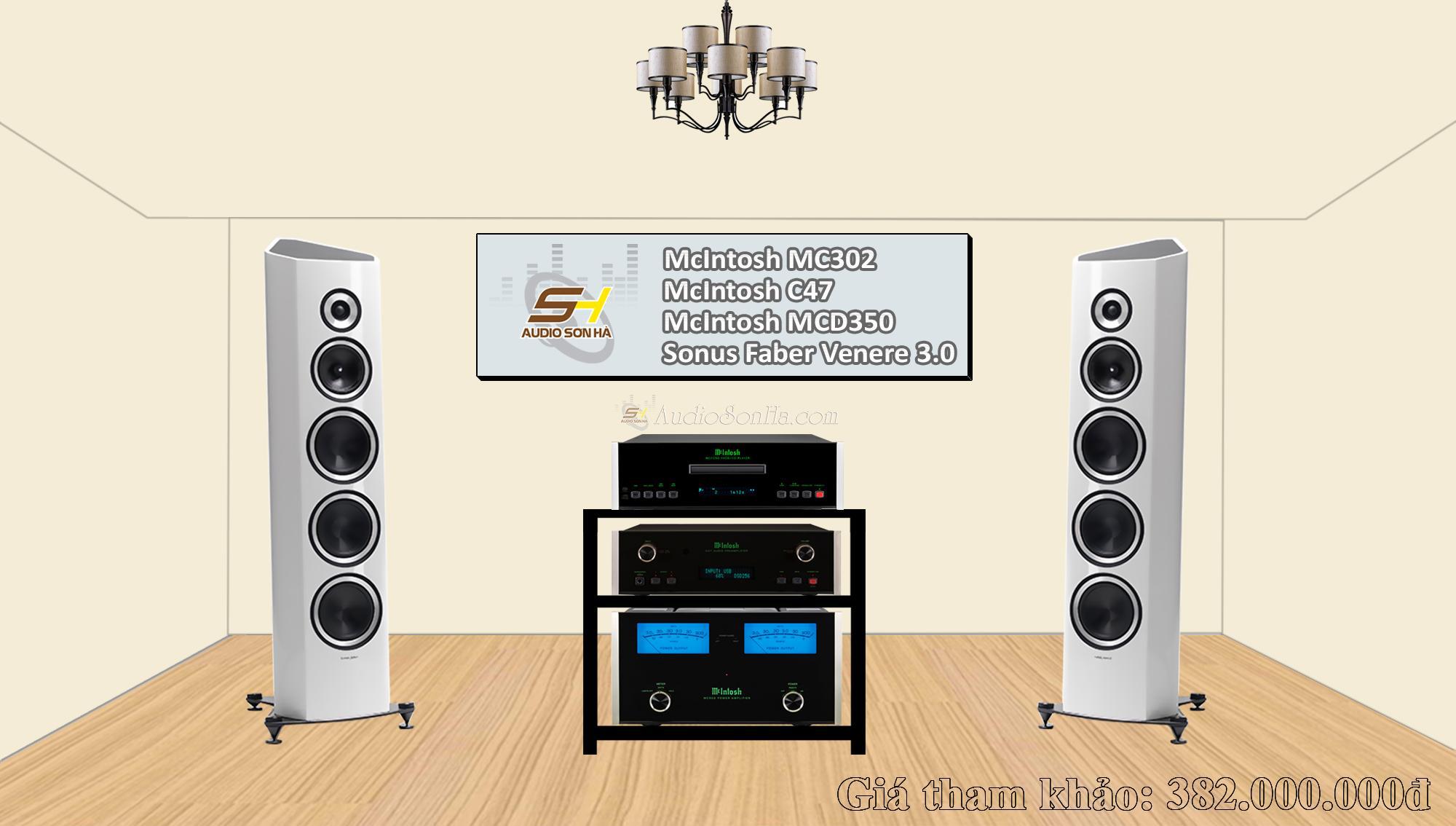Hệ thống nghe nhạc Sonus Faber & McIntosh