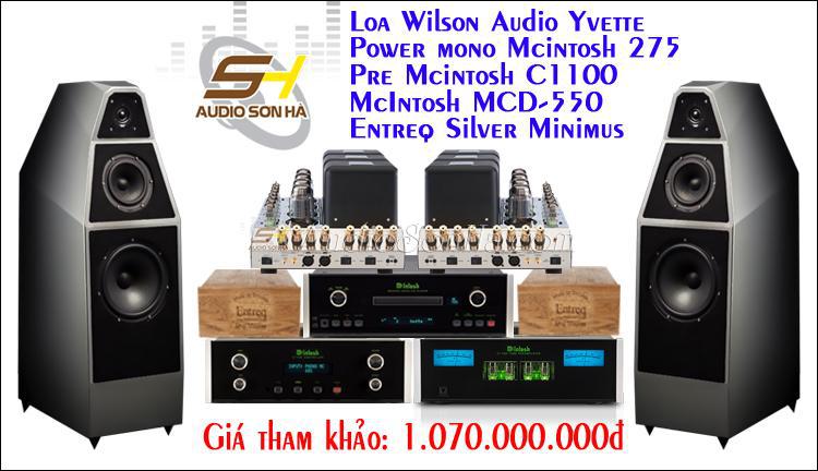 Hệ thống nghe nhạc Wilson Audio