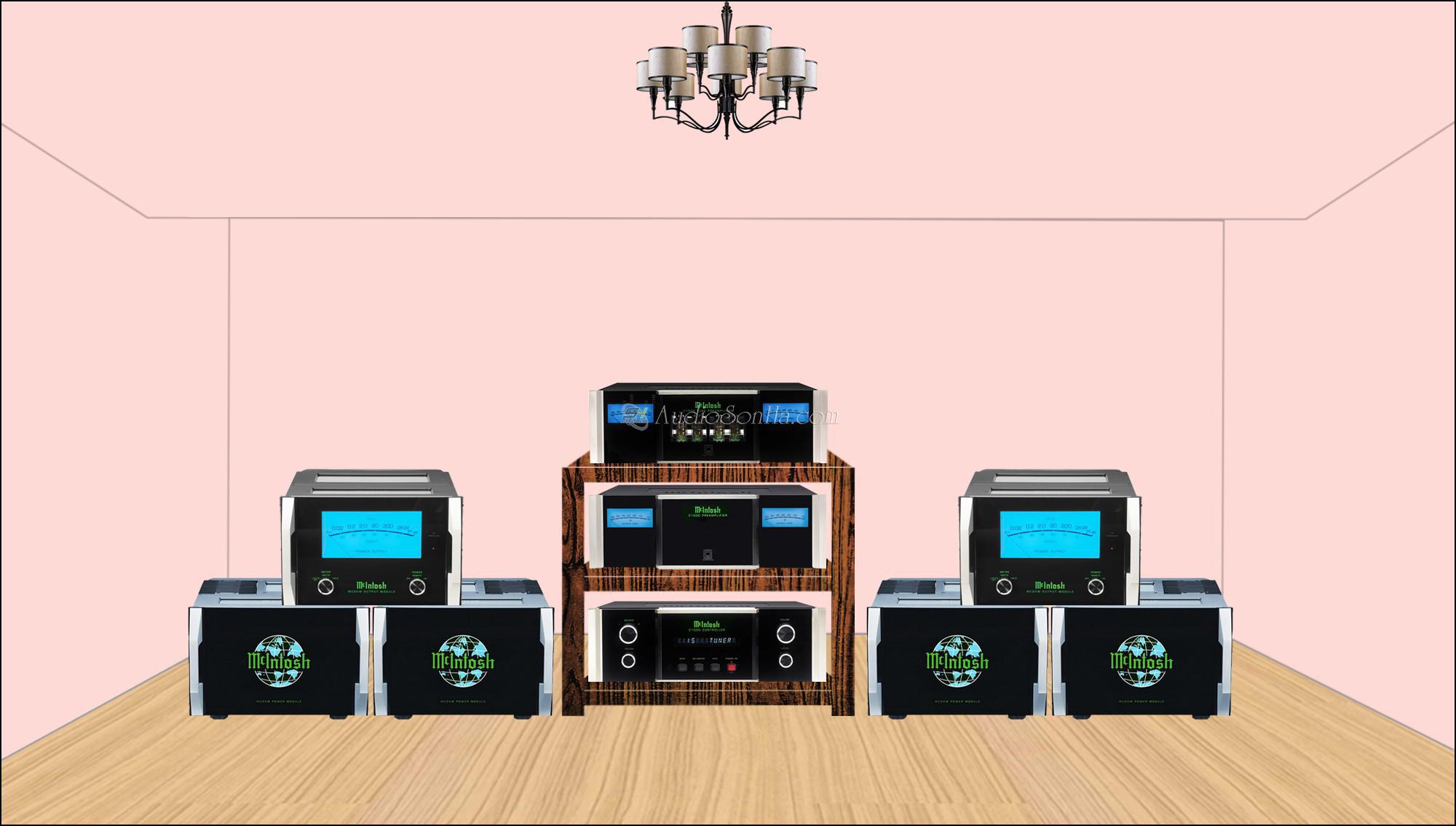 Hệ thống Pre Power McIntosh MC2kW và C1000 CTP