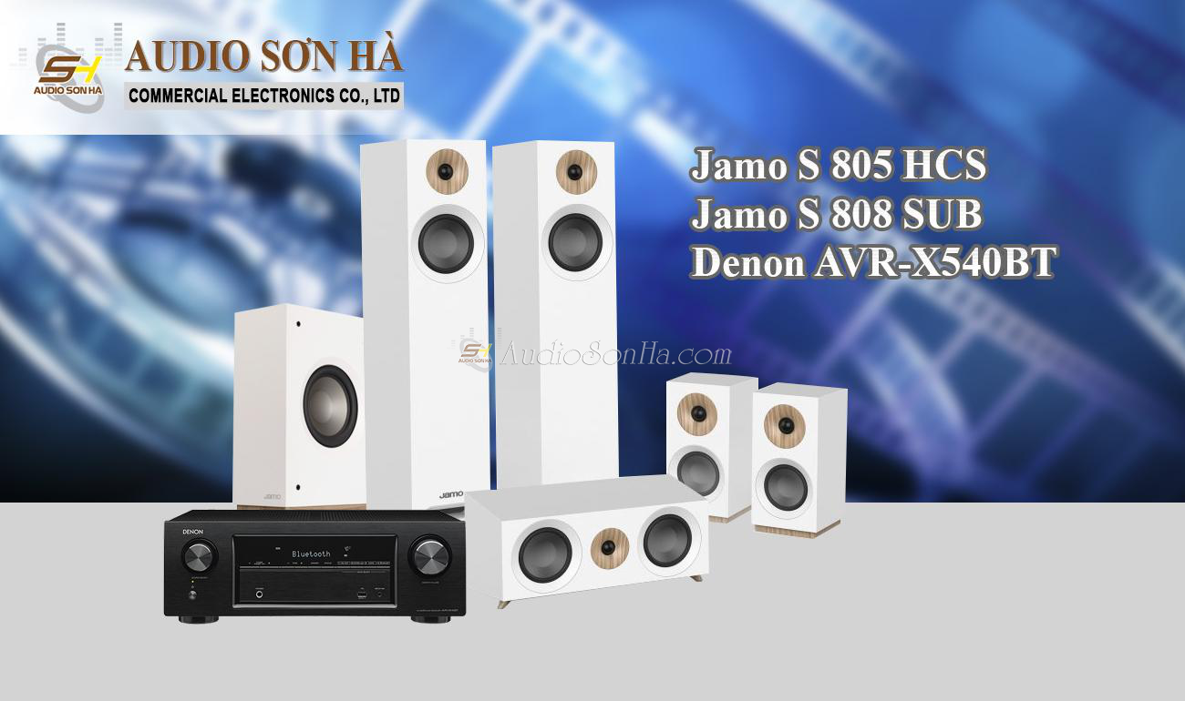 Hệ thống xem phim Jamo S 805 HCS