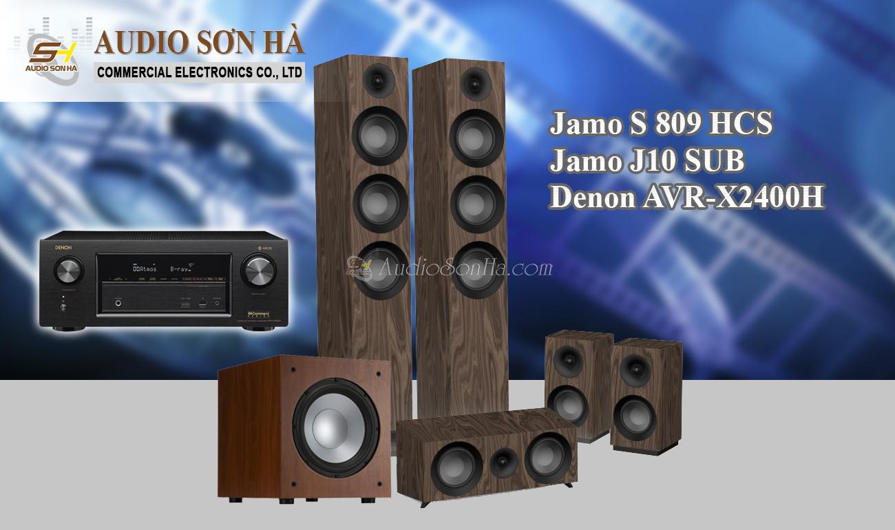 Hệ thống xem phim Jamo S 809 HCS