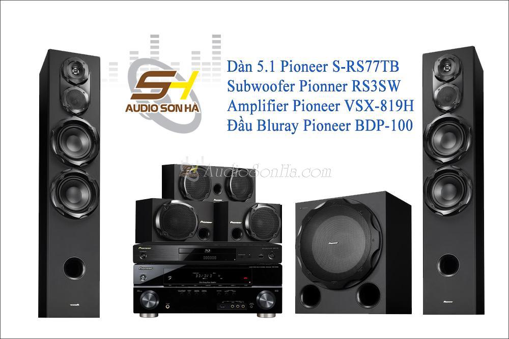 Hệ thống xem phim Pioneer RS77TB