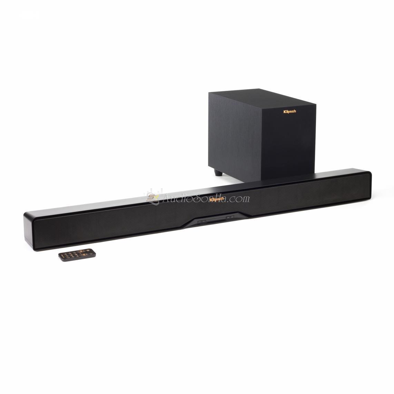 Klipsch R-4B Soundbar And Wireless Subwoofer
