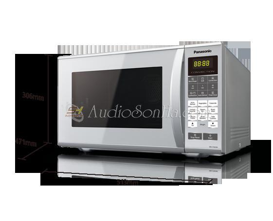 Lò vi sóng có lò nướng Panasonic NN-CT655M