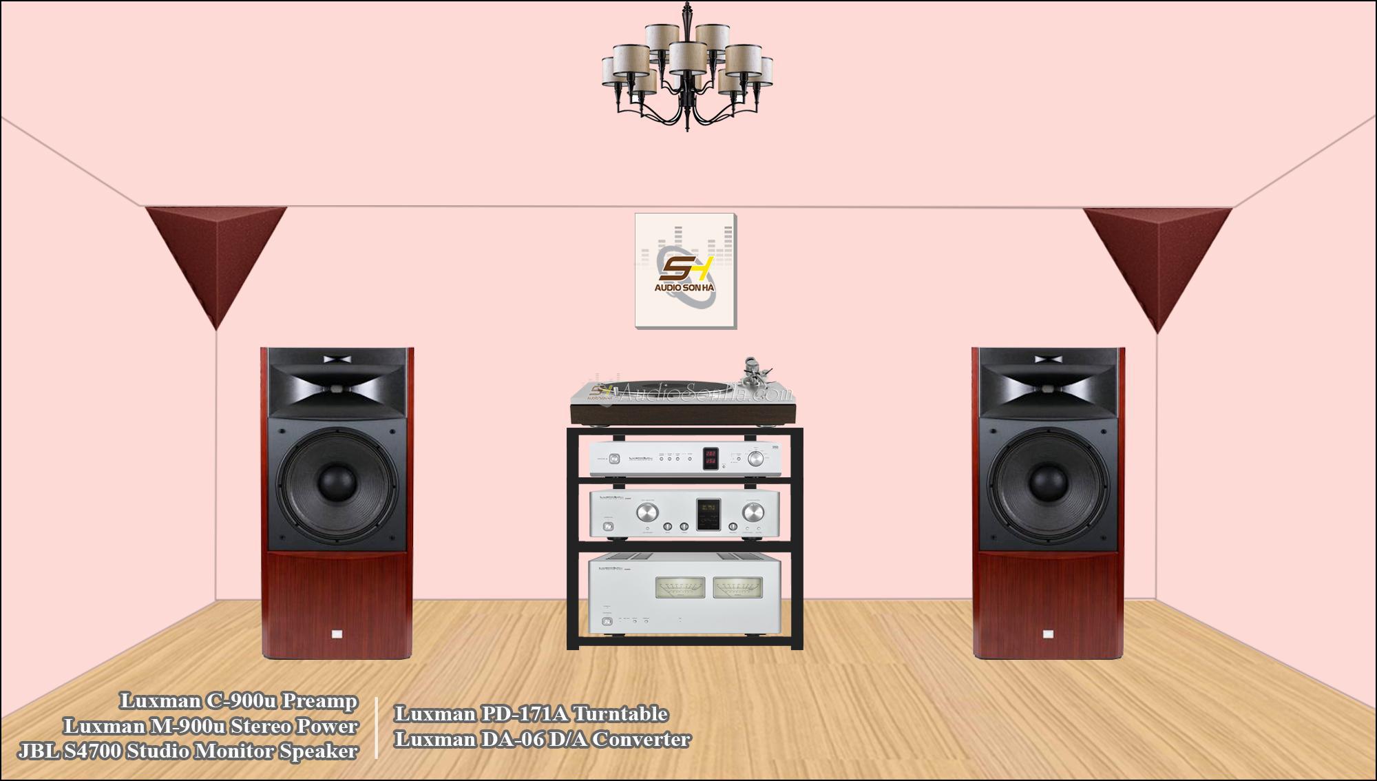 Luxman 900 Series & JBL S4700