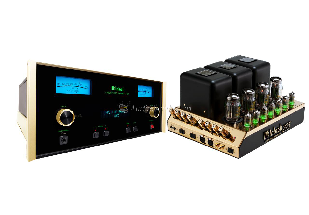 McIntosh C2600 LE Preamplifier & MC275 LE Power