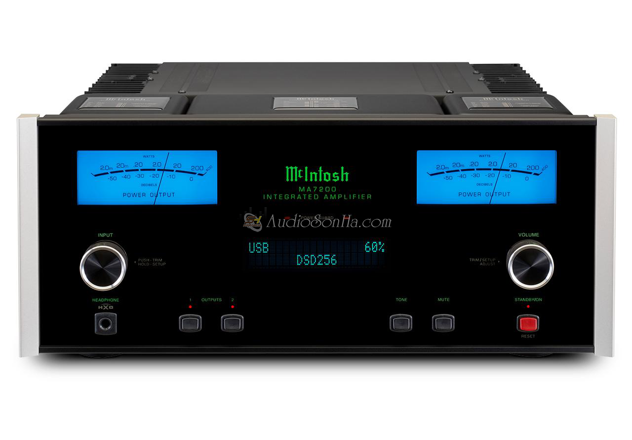 McIntosh MA-7200 Integrated Amplifiers