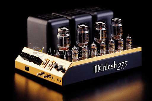 McIntosh MC-275 LE Gold Power