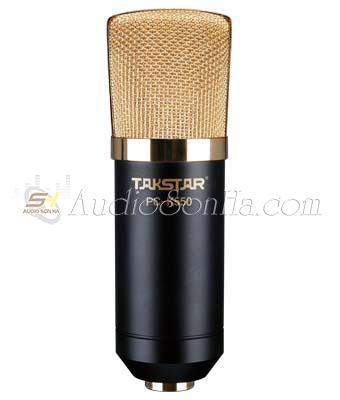 Micro thu âm Takstar PC K550 (gồm nguồn)