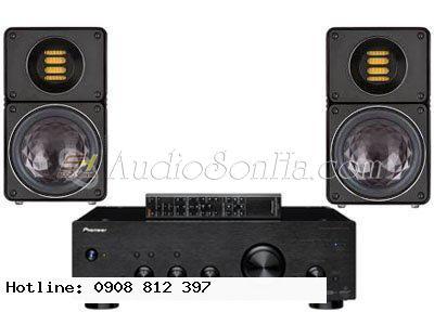 Hệ thống nghe nhạc Elac + Pioneer