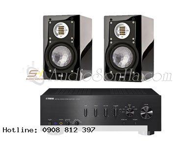 Hệ thống nghe nhạc Elac + Yamaha