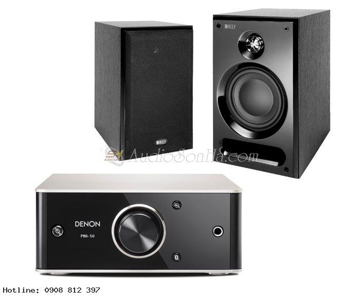 Hệ thống nghe nhạc Kef + Denon