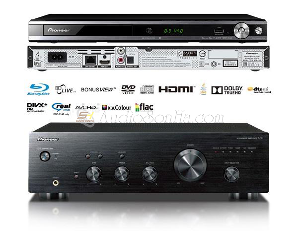 Pioneer Apmli A10 - Bluray Disc BDP3140