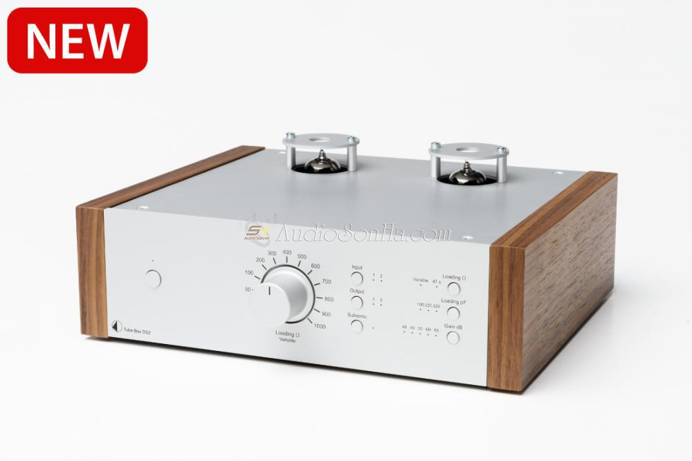 Pro-Ject Tube Box DS2 Silver Wanult