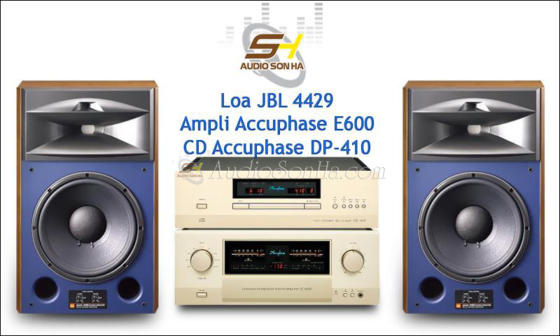 SETUP HI-END JBL & ACCUPHASE