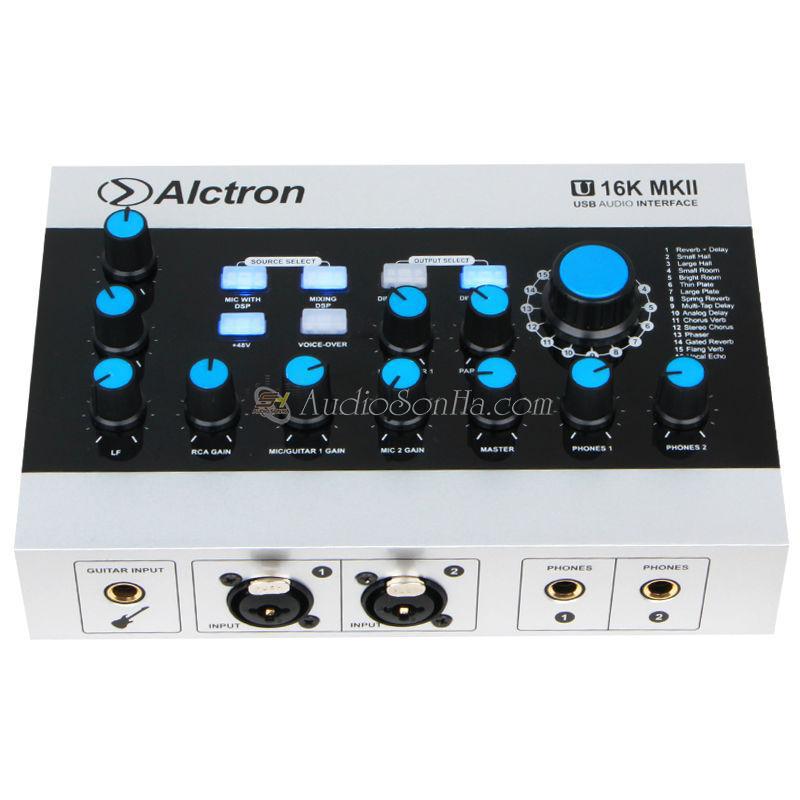 SoundCard Alctron 16K MKII USB