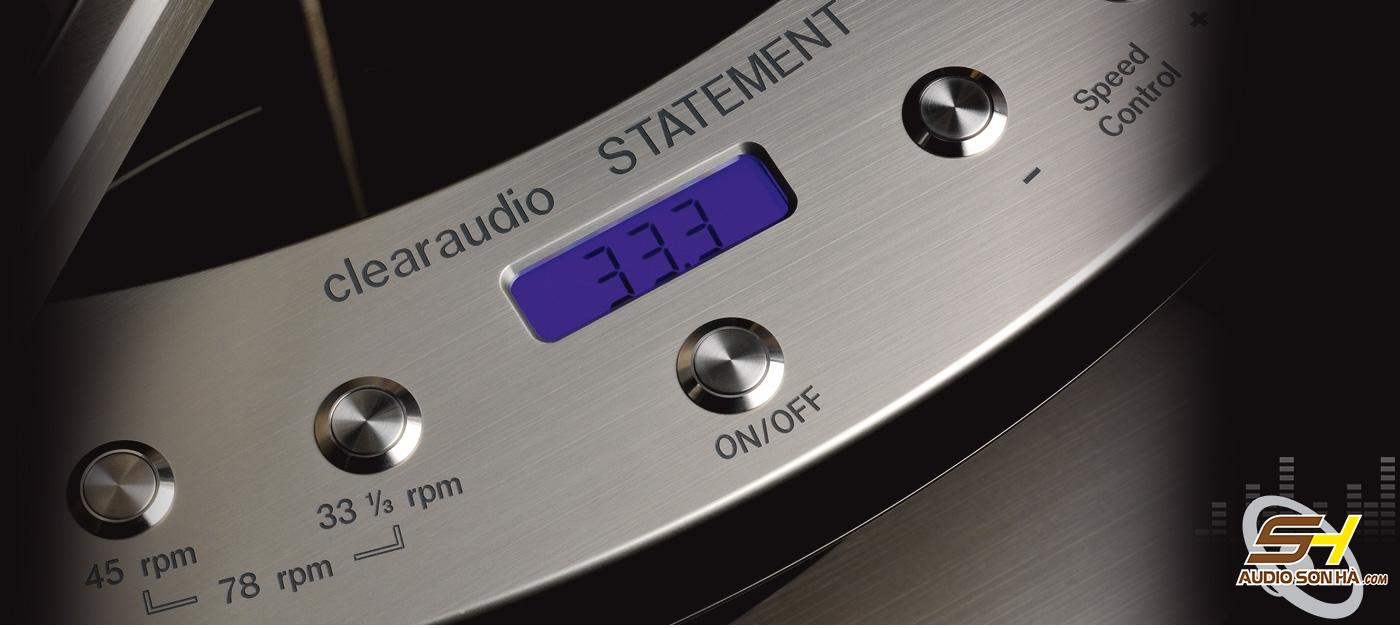 Mâm than ClearAudio Statement