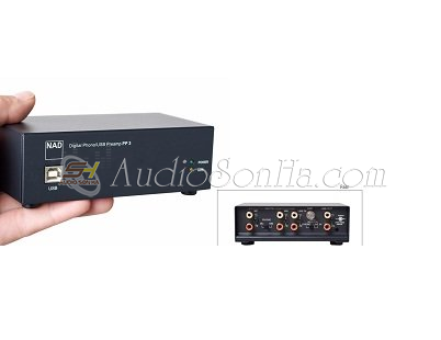 NAD PP-3  Digital Phono/ USB Preamp