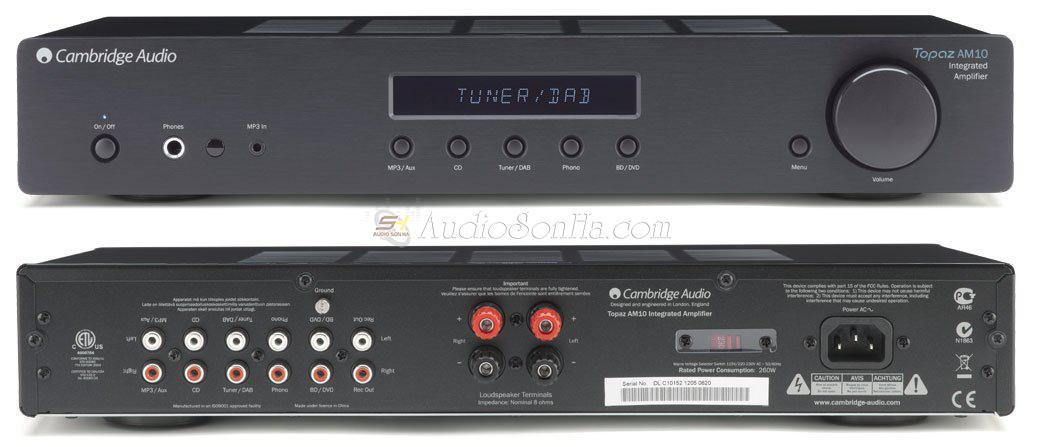 Integrate Amplifier Topaz AM10