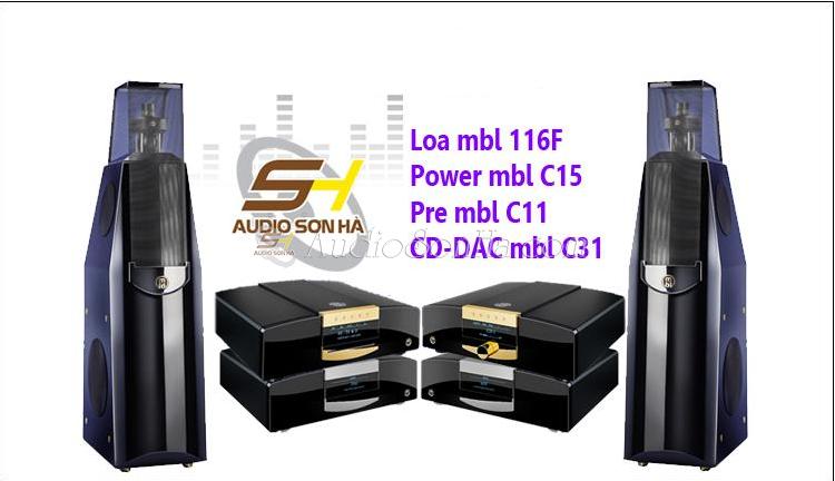 Hệ thống nghe nhạc MBL Corona line