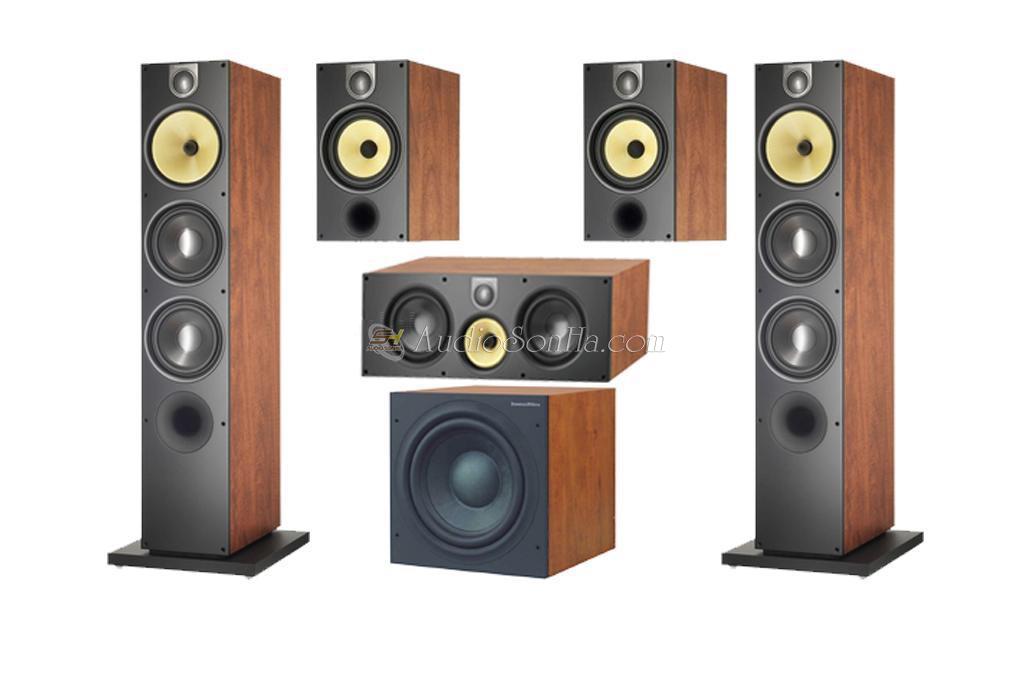 Hệ thống loa 5.1 B&W Series 600