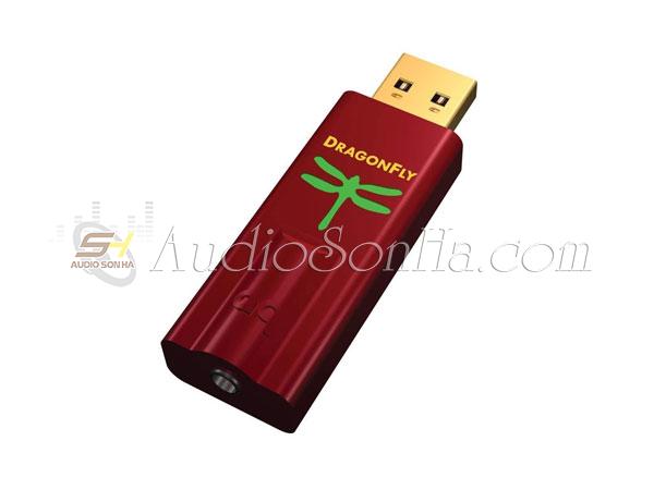 USB DAC AudioQuest DragonFly Red