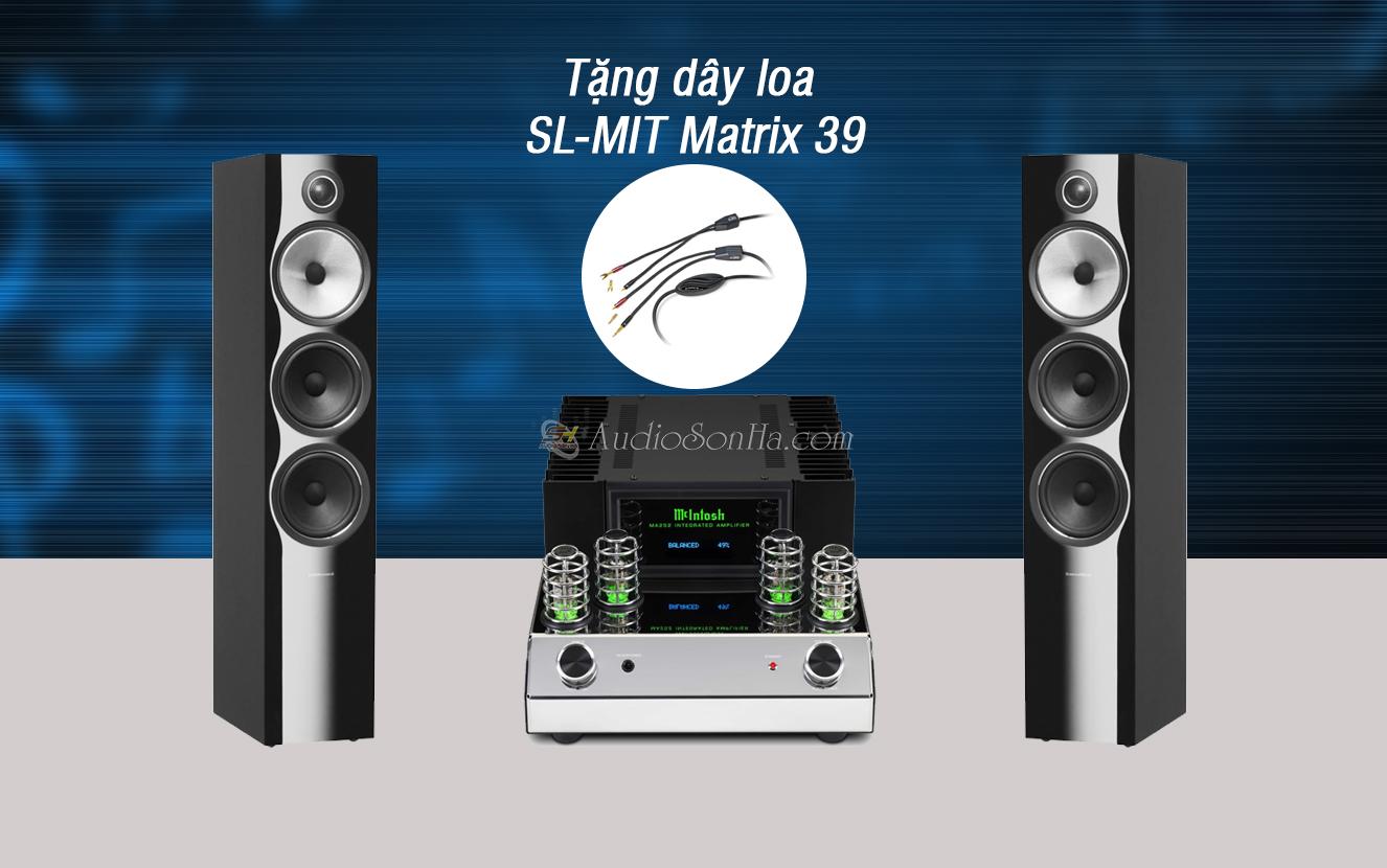 Hệ thống nghe nhạc Mclntosh MA 252/ B&W 703