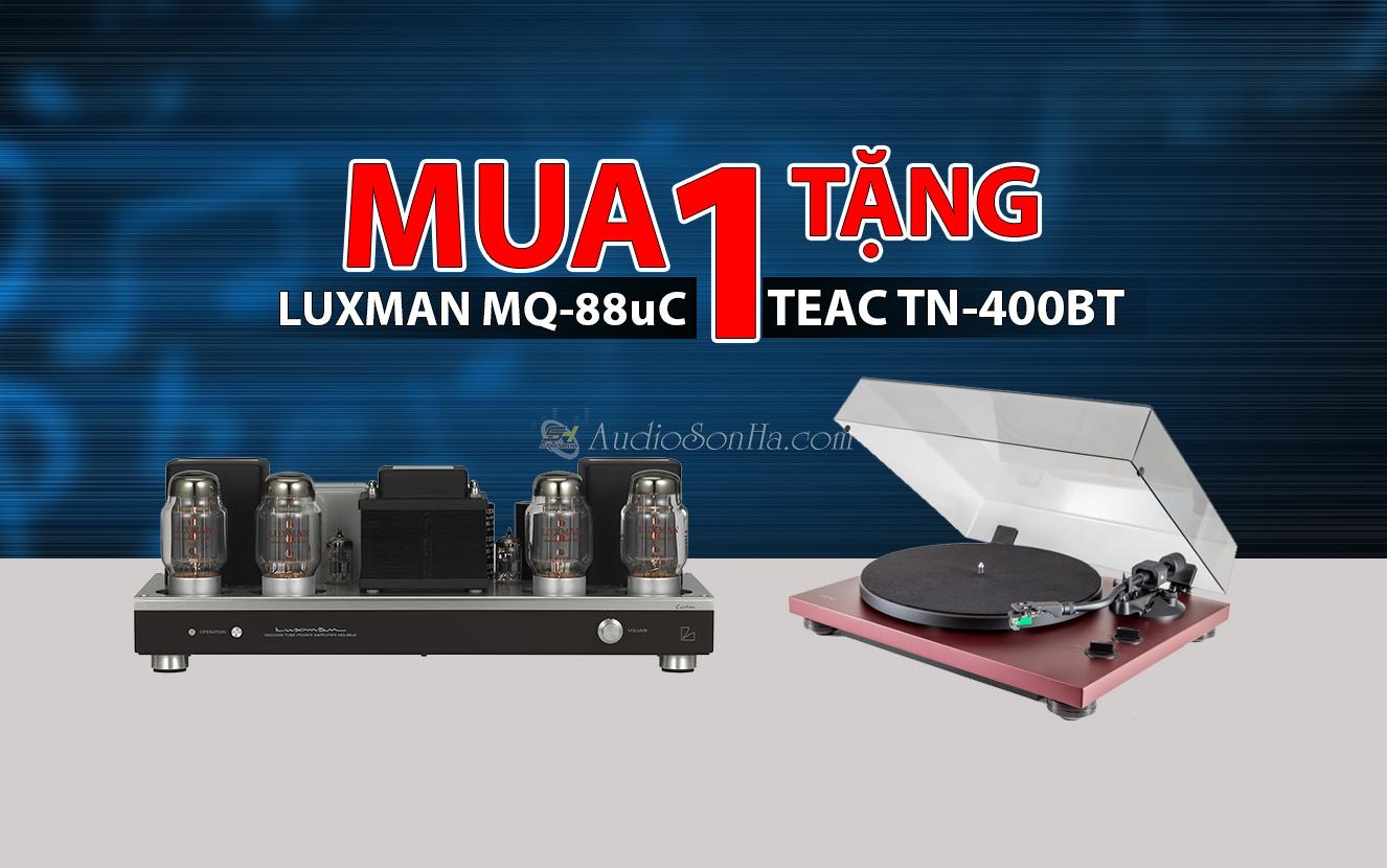 Hệ thống nghe nhạc Tube Amplifier Luxman MQ-88U